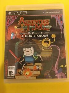 Adventure Time: Explore the Dungeon Because I Don't Know (Sony PlayStation 3, 2…