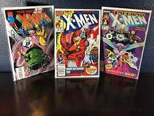 """3 Issue Lot UNCANNY X-MEN 242, 284, 329 w/ Wolverine Bishop X-Factor """"Reader's"""""""