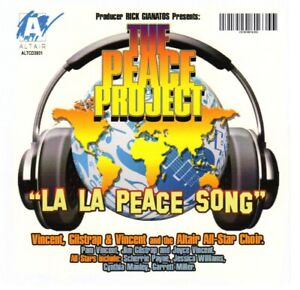 Vincent, Gilstrap & Vincent - La La Peace Song - U.S. CD MAXI-SINGLE