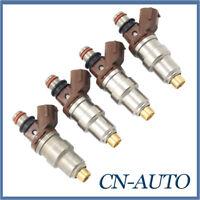 4Pcs Fuel injector 23250-75050 For Toyota Prado RZJ Hilux RZN Hiace 3RZFE 2.7L