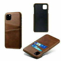 Cover for iPhone Model 11, 11 Pro, 11 Max Bumper Case Card pocket Hybrid wallet