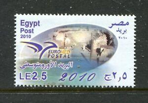 Egypt 2068. MNH, Euromed Postal Union 2010. x33518