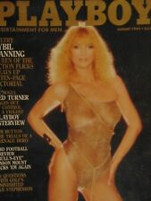 Playboy August 1983 | Sybil Danning Carina Persson     #2478+