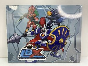 The World Of Little Battlers eXperience LBX Hardcover Anime Book Rare New/sealed