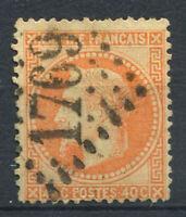 France 1868 Yv. 31 Oblitéré 60% 40 C, Napoléon III