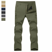 Men's Tactical Pants Softshell Military Army Combat Training Casual Cargo Pants
