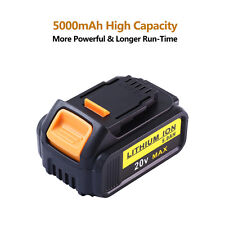 20V 5.0Ah for Dewalt Replacement Battery lithium ion XR DCB180 DCD985B DCB200