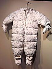 Baby Gap Warmest down snowsuit, ivory fros SIZE ( 6 - 12  Months)  #234209
