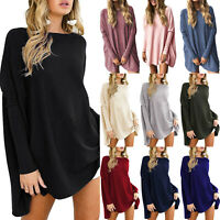 Plus Size Women's Batwing Sleeve Loose Ladies Shirts Tops Casual T-Shirts Blouse