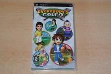 Golf Sony PSP Region Free Video Games with Manual