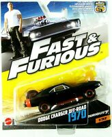 FAST AND FURIOUS DODGE CHARGER OFF ROAD 1970 NEW ON CARD 1//55