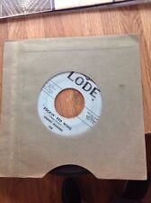 Sammy Masters rockabilly 45 ROCKIN RED WING / LONELY WEEKEND~Lode