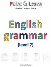 Paint & Learn: English grammar (level 7)