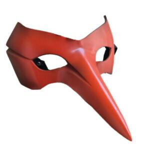 Anime Persona 5 Goro Akechi Eye Mask Halloween Party Cosplay Costume Red Prop