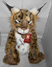 Charlie Bears LOKI the Plush Lynx ~ Designed by Isabelle Lee 2016 ~ NEW Plus Bag