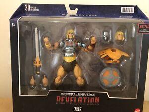NETFLIX MOTU Masters Of The Universe Revelation FAKER Mattel He-Man Masterverse
