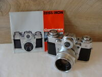"Zeiss Ikon - Contarex System SLR Kamera Kit Planar 2/50mm ""Sammlerstück"" - TOP"