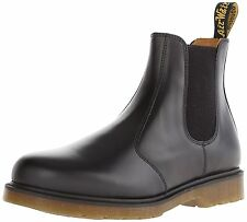Dr. Martens 2976 Chelsea Boot,Black Smooth,5 UK Womens 7 M US/Mens 6 M US