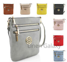 Double Front Zip Ladies Girls JM834-1 Small Across Body Bag Women Shoulder Bags