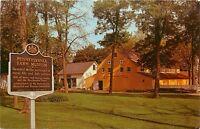 Farm Museum Landis Valley Pa Pennsylvania Postcard