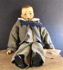SIGNED & NUMBERED PRAIRIE PRIMITIVES DOLL TAD SAMUEL PP-005 LIMITED EDITON MALE
