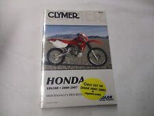 Neu Clymer Honda 2000-2007 XR650R Reparatur Manuell
