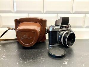 EXA Ia Kamera Fotoapparat Zeiss Tessar 1:2.8 / f=50mm