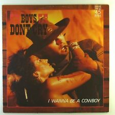 "12"" Maxi - Boys Don't Cry - I Wanna Be A Cowboy - L5367h - washed & cleaned"
