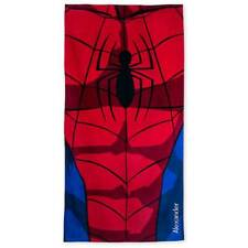 New Disney Store Spiderman Beach Towel no name Marvel Avengers
