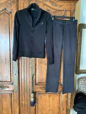 Y-3 Yohji Yamamoto Black Track Suit Size S/P