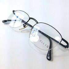 Vintage NOS Perry Ellis Half-Rim Metal Eyeglass Frame PE103 3 Black 51-17-145
