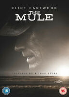 The Mule DVD (2019) Clint Eastwood cert 15 ***NEW*** FREE Shipping, Save £s