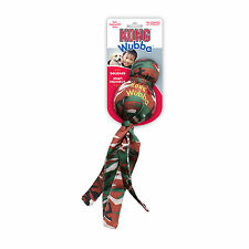 KONG Large Camo Wubba Dog Fetch and Tug Squeaker Toy (WM1) Assorted Colors