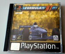 """Jeu PS1 """"Formula 1 97"""" complet en boîte (N°820)"""