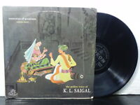 K L Saigal LP Record Memories of Greatness Bollywood Rare Vinyl 1963  Indian