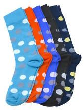 5 Pairs Scott Allan Mens Crew Dress Socks | ful Crazy Mens Polka Dot Socks