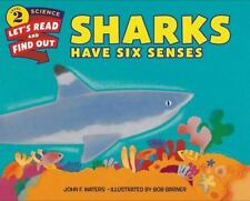 Let's-Read-And-Find-Out Science: Sharks Have Six Senses by John F. Waters NEW HC