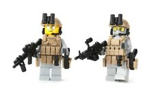 Ranger 2 Pack US Army Minifigure Soldiers (SKU39)made with real LEGO® minifigure