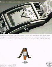 Publicité advertising 1997 La Montre Cap Cod par Hermès