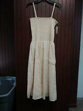 Stockholm Atelier & Other Stories Womens Strap Beige Dress Size Medium