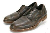 Mephisto Air Jet Men's $240 Dress Shoes Size 8.5 Antique Brown Leather