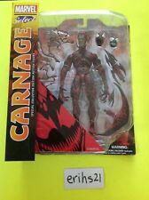 "Marvel Select Diamond Select Spider-man Villain Carnage 7"" action figure MISB"