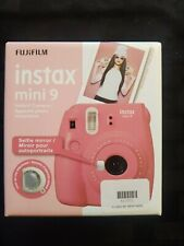 New ListingFujifilm Instax Mini 9 Instant Film Camera - Flamingo Pink - Brand New