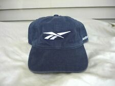 REEBOK Vintage Canvas Dad Hat - Vector Logo ERA Mitchell Navy Insta Pump OS Shaq