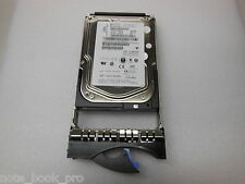 "Lot of 5 IBM 146Gb SAS 15K 3.5"" HDD in IBM with caddy P/N 26K5842 FRU 39R7350"