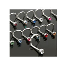wholesale bulk lot 10  x piercing barbell belly bars tongue  NOSE STUDS ring