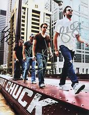 AUTOGRAPHED 8X10 PICTURE OF PORT CHUCK BAND/GENERAL HOSPITAL Silver Ink