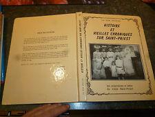 Histoire et Vieilles Chroniques sur Saint Priest 1986 Photo & Cartes Postales