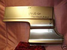 1958 59 60 Ford Thunderbird Rear Quarter Patch Panel
