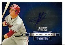 2012 Bowman Sterling Stryker Trahan Auto Autograph